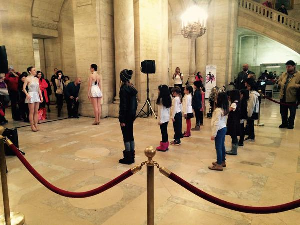 Dance Class with the Rockettes at New York Public Library