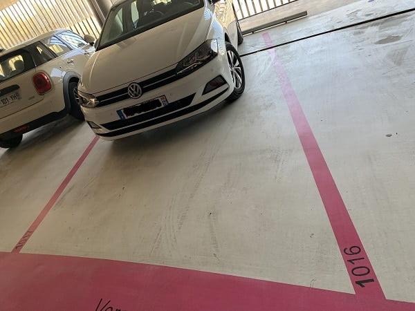 parking at krypton parking garage aix-en-provence france