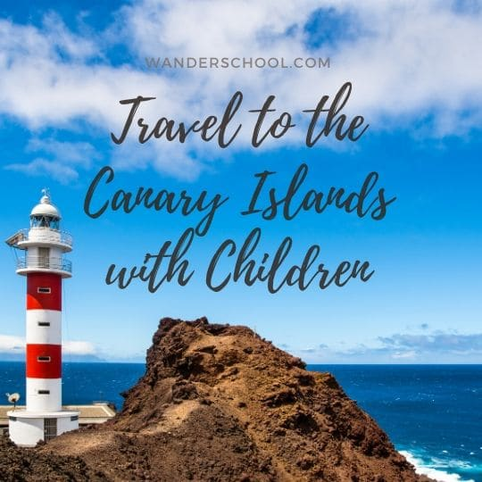 travel canary islands with kids children spain la palma