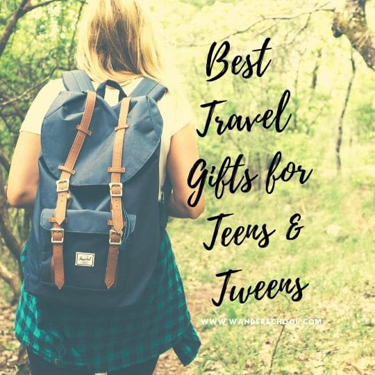 travel gifts for teens and teens