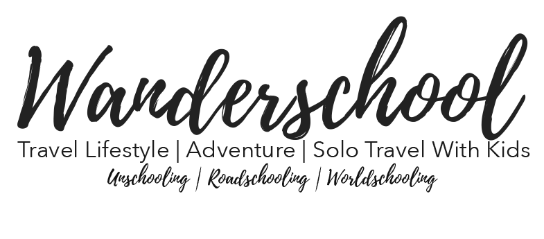 wanderschool the travel lifestyle blog solo parent travel with kids children unschooling blog