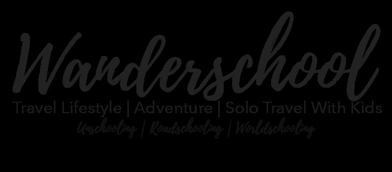 wanderschool the travel lifestyle blog solo parent travel with kids children unschooling blog