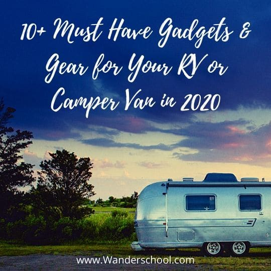 2020 best gear gadgets for rv or camper van