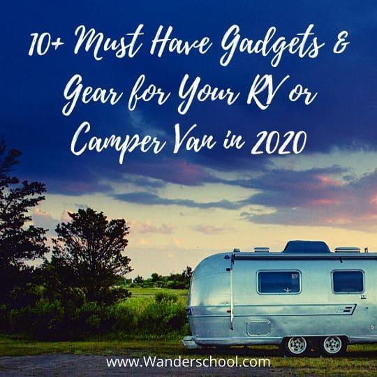 2020 best gear gadgets for rv or camper van