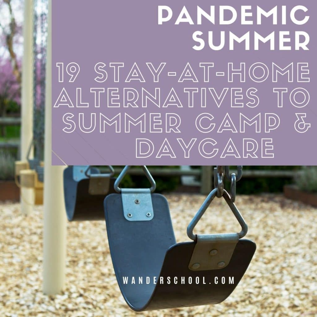 covid pandemic summer camp alternatives summer 2020