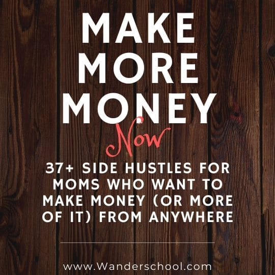 side hustles make money now for moms