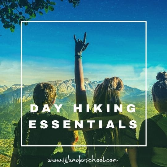 day hiking essentials musts in your backpack hydration pack vest