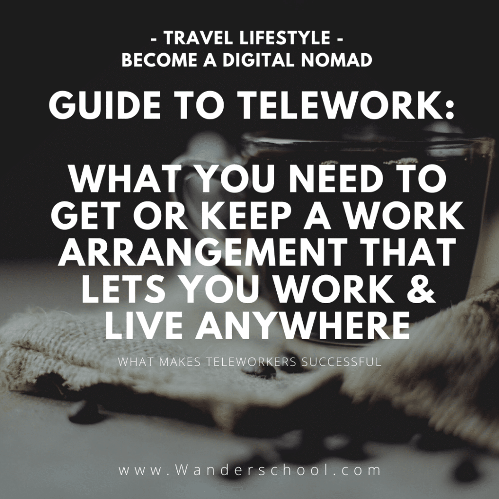 guide to telework work anywhere digital nomad