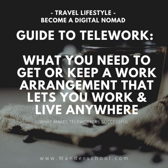 guide to telework live work anywhere digital nomad