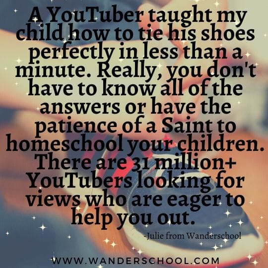 patience homeschooling youtube