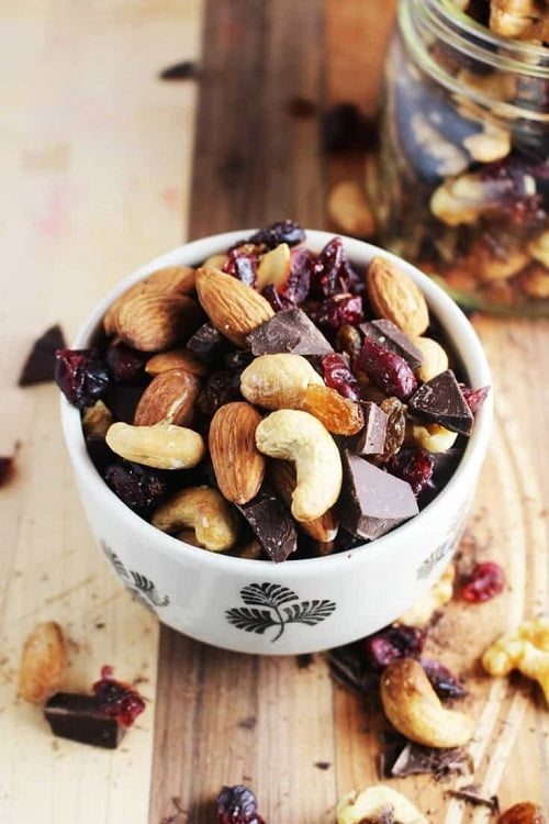 healthy trail mix recipe for hiking