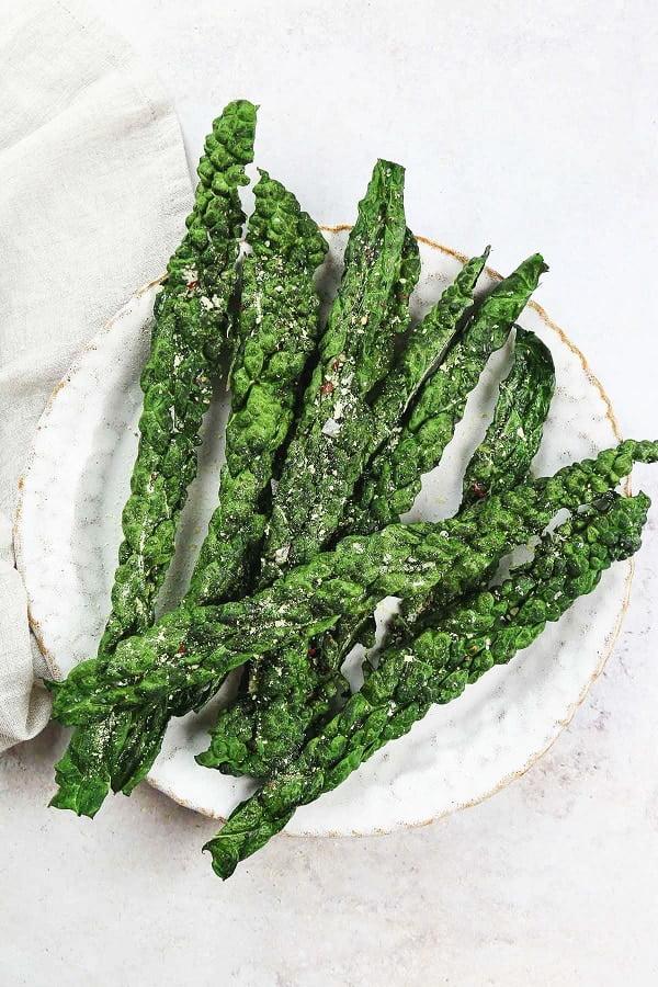 kale crisps recipe for hiking snacks