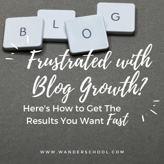 frustrated with your blog growth here's how to get results faster