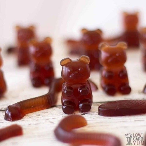 healthy gummy bear recipes for hiking snacks