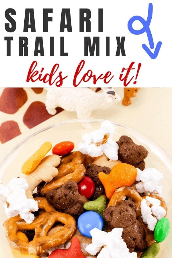 peanut free safari trail mix recipe