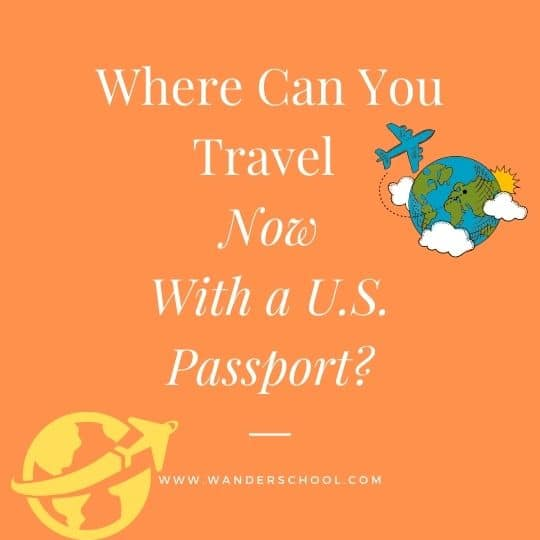 where can you travel now with a U.S. USA passport
