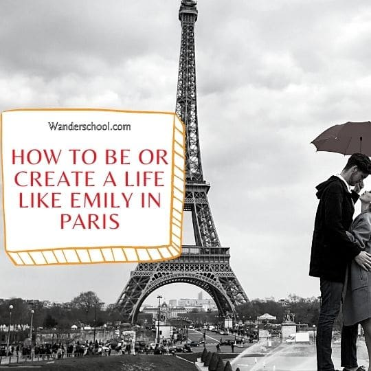 how to be like or create an influencer life like emily in paris