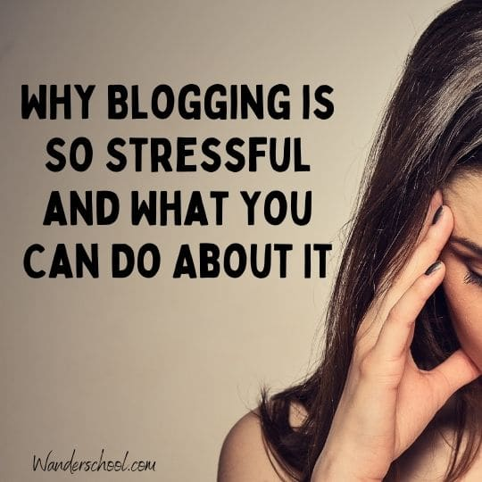 reduce blogging stress, stress-free blogging