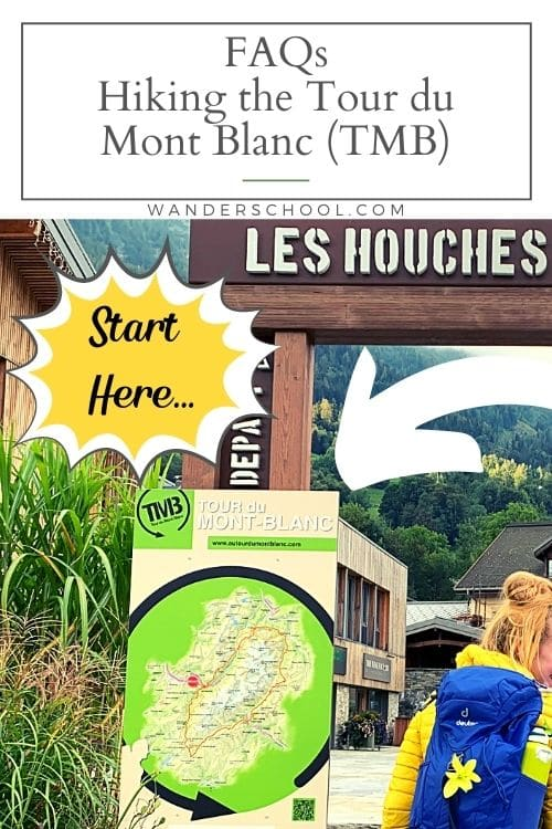 frequently asked questions about the TMB tour du mont blanc