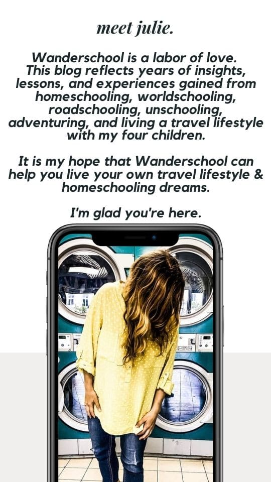 meet julie from wanderschool