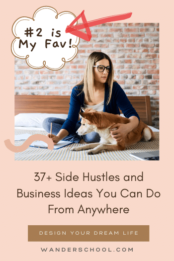 side hustles and business ideas work from anywhere