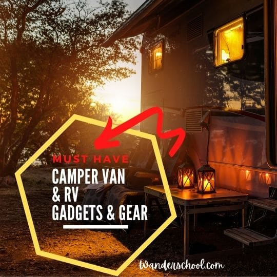 camper van gadgets rv gear essentials