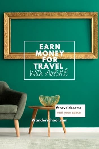 earn money for travel with airbnb