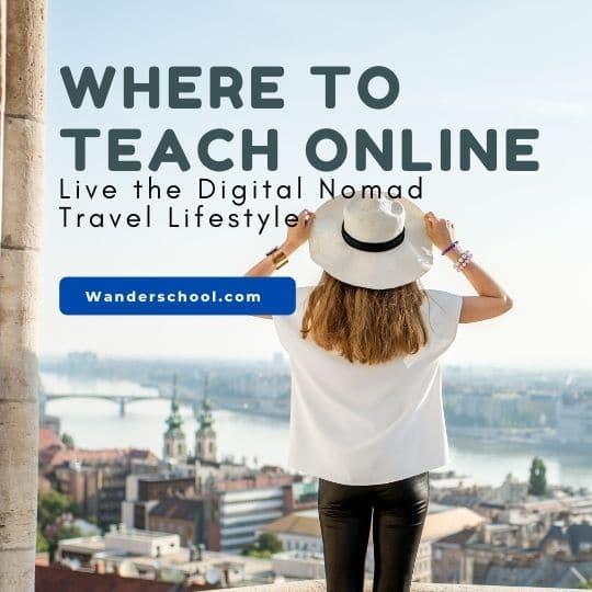 where to teach online platforms digital nomad