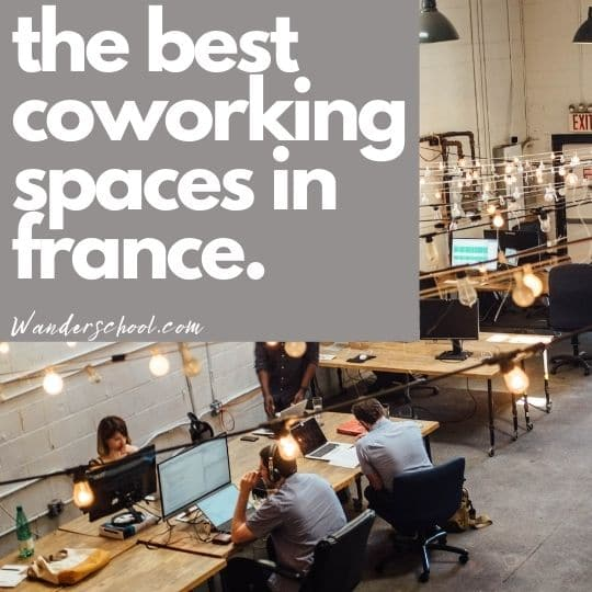 the best coworking places in france