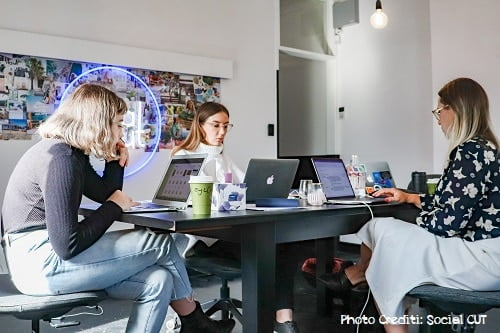 women coworking space france