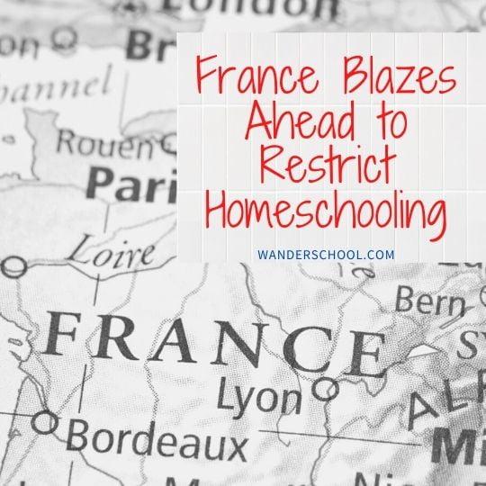frane restricts homeschool