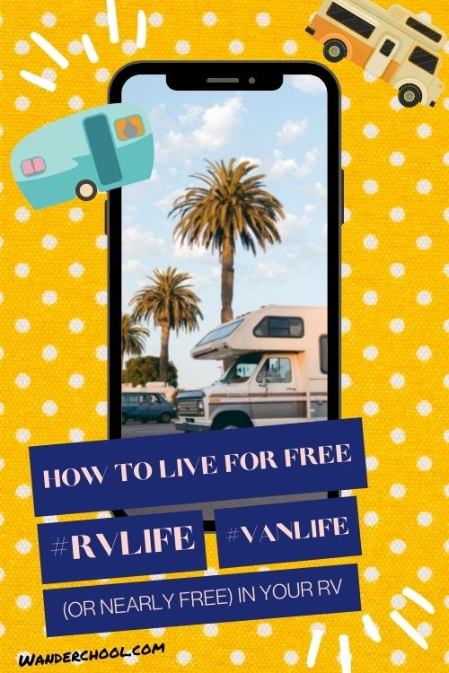 free rv living and free campgrounds