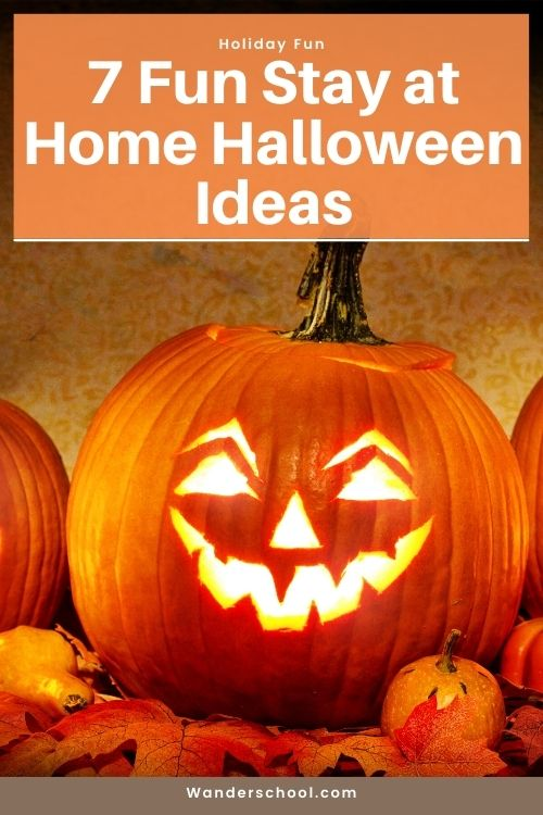 spooky stay at home halloween ideas