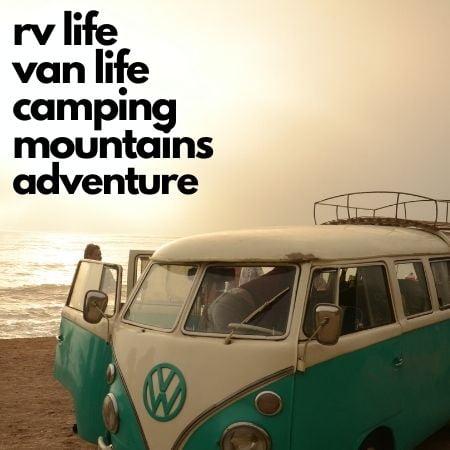 travel lifestyle van life, rvlife, hiking, adventure, wanderschool